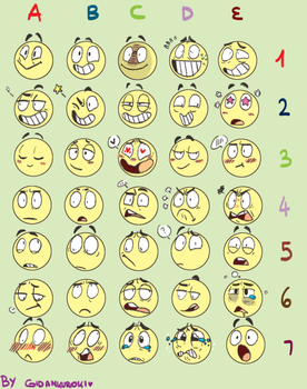 Expressions Challenge by 211darkness