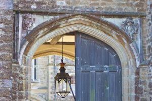 Gate at Knole Park House. by rogerdurling