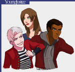 Young Justice Style Test by TheFlamingZebra