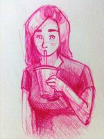 I like smoothies by KittyNamedAlly