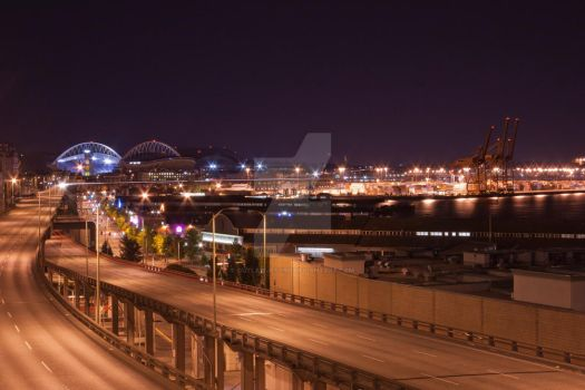 seattle night by outlawjettro