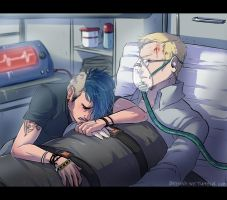 Ambulance ride by Y-n-Y