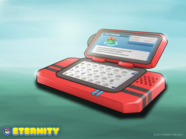The Pokedex Concept Art by PlutoManiacx