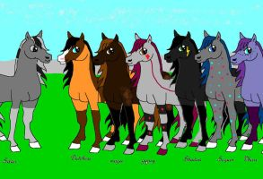 Silver-dream herd by shadows-of-the-dusk