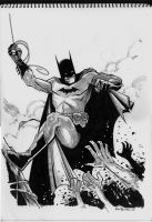 Batman Sketch 2 by alanrobinson