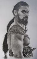 Khal Drogo - Game of thrones by ShannonEM