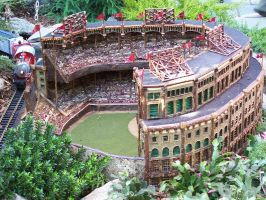 Miniature Yankee Stadium by rioka