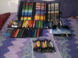 Prismacolor Collection- 2011 by Evilness321