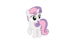 Sweetie Belle Vector by Kamyk962