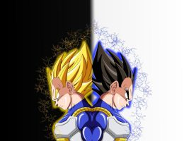 Vegeta - True Saiyan by Tallinlevai