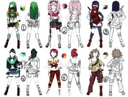 Outfit/Character Adoptables [CLOSED] by EllieJoy