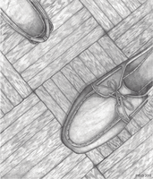 Shoe (pencil) by TOMORROWSPHERE