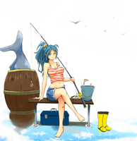 Gone Fishing! by Staplus