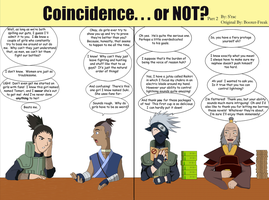 Coincidence...or NOT? Part 2 by SractheNinja