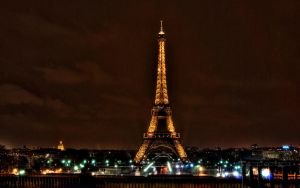 Paris 2560 Eiffel tower HDR by tezdesign