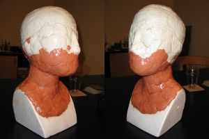 Head mannequin or dress form by Hellwolve