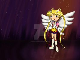 Eternal Sailor Moon by thedustyphoenix