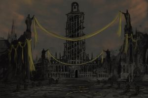 The silent City by Halycon450