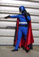 Cobra Commander with cape by FraterSINISTER