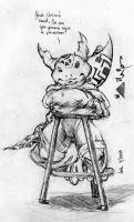 Lord of the Stool by runde