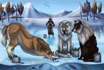 Ice Fishing Training (Finished YTH) by QueenHalloween