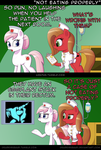 Ask Pun Pony - Not Eating Properly by DeusExEquus