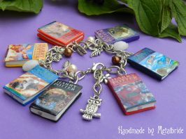 Fimo Harry Potter UK Books by oOMetalbrideOo