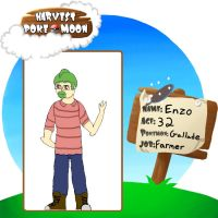 Enzo Harvest Pokemoon Application by mistere17