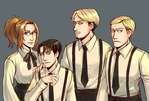 SNK Team by MaryIL