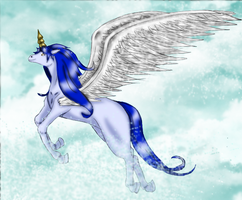 Flying Winged Unicorn Adopt by GrimmXD-Adopts