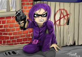Hit Girl: by Tahkyn