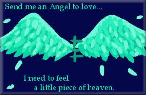 Send me and Angel to love by molicalynden