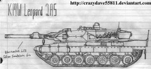 Leopard 2A5 by CrazyDave55811