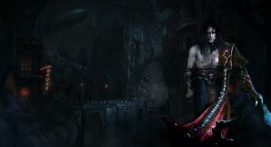 Castlevania: Lords of Shadow 2  Future city by RenRenLotus