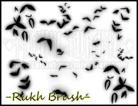 MAGI: Rukh Photoshop Brushes by MiyukiKurame