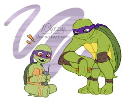 Pass It On: Donatello by 10yrsy