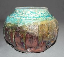 half buried pot by cl2007