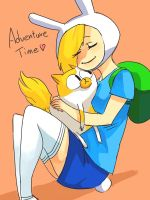 Fionna and Cake by WortCat