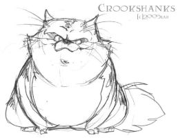 Crookshanks - HP by lberghol