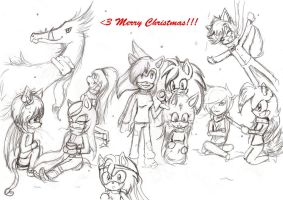 Merry Christmas to you all by DemonBeatz