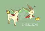 Bug eevee evolution - Inseceon by xldollboylx