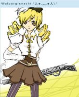 iScribble/SAI - Mami Tomoe by super1ucy