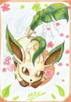 Leafeon by celunia
