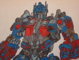 Optimus Prime- Marker by RyGuy52