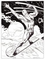 Silver Surfer #85 by EJJS