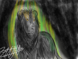 Lion Sketch by CancerouslyKilled
