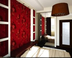 Flat. Red bedroom 2 by HorheSoloma