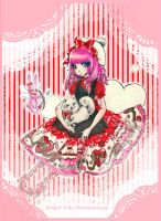 Angelic Pretty-ValentinesDress by Youkai-Yoko