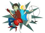 Marshall Lee and Fiona by kmwoot