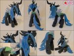 Queen Chrysalis plushie by SewberryGarden